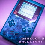 Gameboy backlight and bivert mod