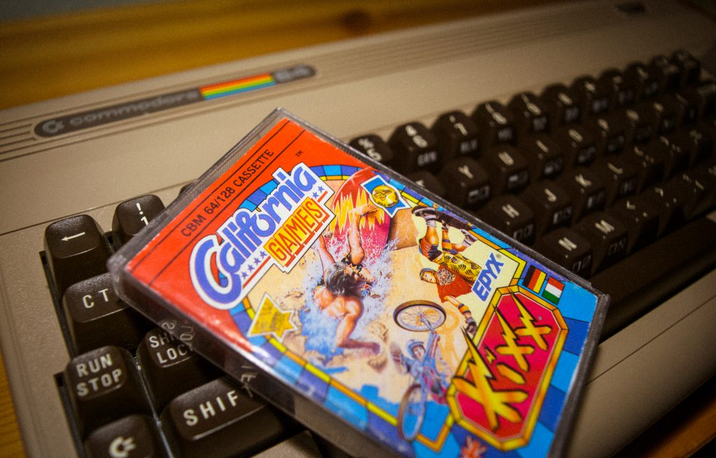 California Games for the c64