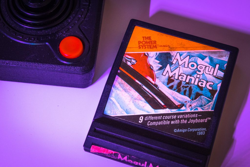 Mogul Manic for Atari 2600 by Amiga Inc.