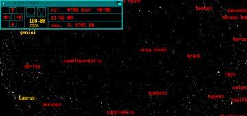 Planetarium Interface